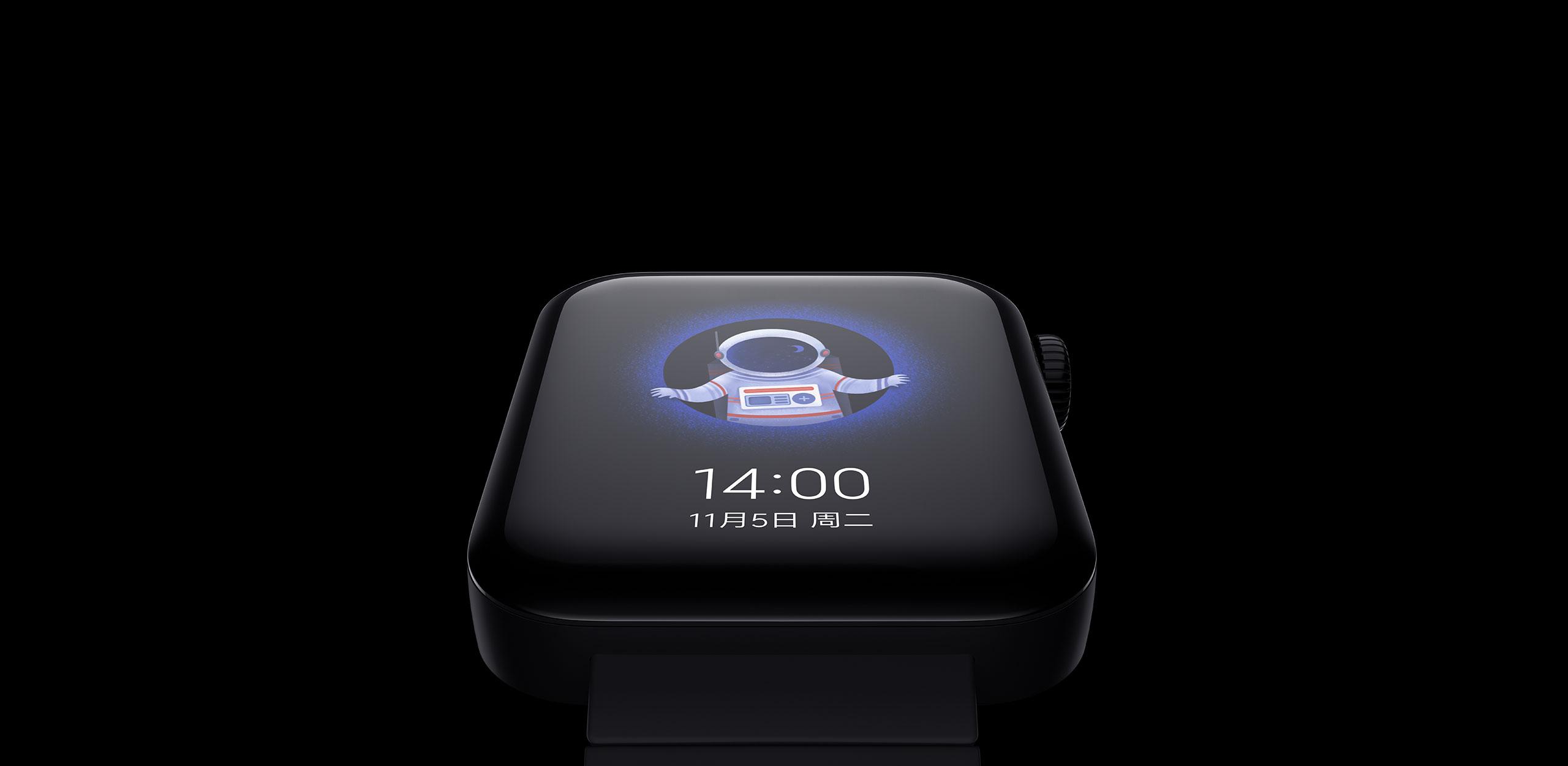 Mi watch- AMOLED screen